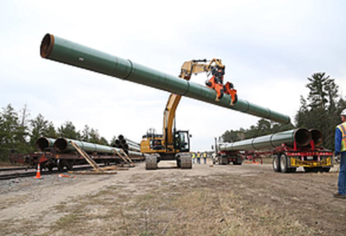 Equipment Rentals - Pipe Hauling & Stringing